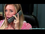 Nurse Samantha Saint gets sper