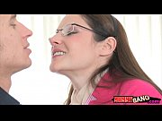 Hot stepmom Samantha Ryan horny FFM trio with teen cutie
