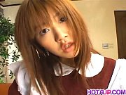 Maid Aizawa pleasing her maste