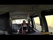 blonde czech babe bounces on dudes big hard cock in the backseat