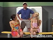 Picture 2 cute Young Girl 18+ girls riding a coach&#...