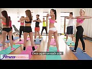 FitnessRooms Amazing asses on show before lesbi...