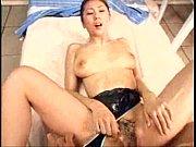競泳水着を脱がしながら正常位ファック中の爆乳美女に顔射フィニッシュ!
