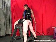 Ebony Mistress Mina caning whi