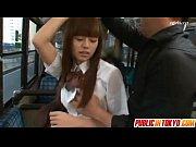 【瑠川リナ】超かわいい制服美少女をバス車内でハメまくる! |