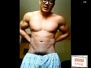 asian amateur video- chinese hunk cam jerk off