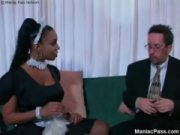 Picture Soleil busty ebony maid banging