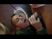 Horny Gay Boy Blows His Mate In The Toilet
