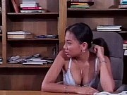 Cute Asians love sex on a table