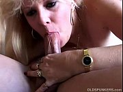 Picture Super sexy blonde MILF in suspenders enjoys...