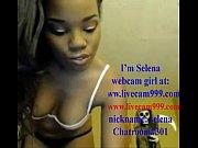 Sexy Black Girl on Webc...