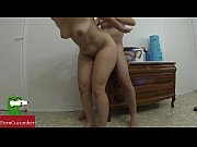 her over cum to cock food and Straw