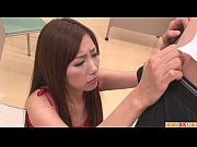 Picture Natsuki is an asian girl giving blowjob to a...