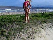 Flagra Amador de Duas Gostosas na Praia Mostrando a Buceta e o Cuzinho - http://www.videosdeflagrasamadores.com