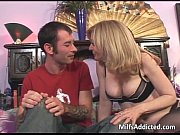 Picture Slutty blonde MILF gets pussy fucek