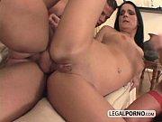 Big cock joins two horny sluts