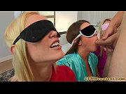 Blindfolded cfnm babe...
