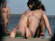 Easy beach nudity
