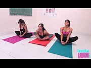 Picture Kendra Lust teaches yoga