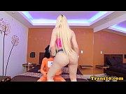 bubblebutt bigass tgirl creamed on asshole – Porn Video