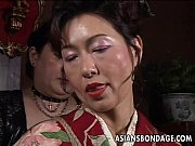 Picture Asian mature bitch has a rope session to end...