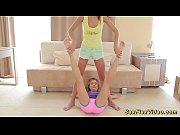 Picture Cute flexible girlfriends naked stretch