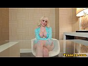 busty tranny doll raw fucked with black penis