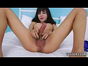 big titted ladyboy cumming – Porn Video