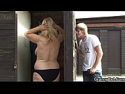 He finds and bangs blonde granny in the changing room view on xvideos.com tube online.