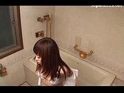 【レズ レズビアン】ちょっとやめてください!お風呂で痴女に悪戯される素人レズ