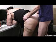 Fat secretary blowjob and offi