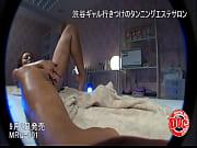 【素人女性が熱いザーメンを膣内に直接中出しされる映像】ビッチギャルが日サロの店員に膣内射精される
