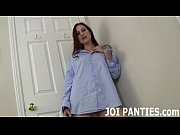 Jolene rewards you with a striptease in panties