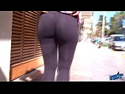 Picture Wow! Amazing Round Booty On the Streets! Fla...