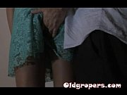Elegant lady groped part tape