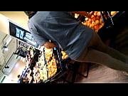 Buen culo en el supermercado
