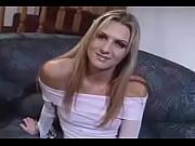 секс блондинки на массажном столе