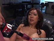 Picture Asian bitch ultra toyed and cum spunked in h...