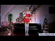 Petite naughty teen teasingly rubs clit