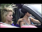 Порно видео лесбиянок в машине