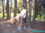 Picture Transsexual blonde get backhand