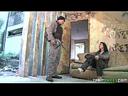 voluptuous sandra flores fucked after a paintball gun shooting