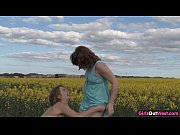 Picture Natural lesbian girls on a canola field