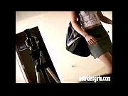 cute teen wears girlie panties to a bj