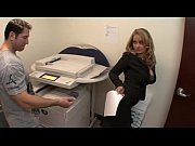 Picture Aline bigbutt in copy room anal cougar