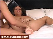 Lesbians squirting from...