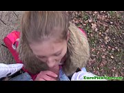 creampied outdoor babe euro young Pulled