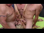 Picture Stepmom gets fisted at the gangbang orgy