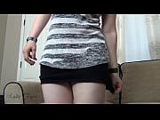 Жена готовится мастурбировать видео