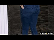 Big natural tits client...